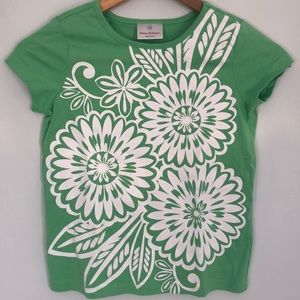 Hanna Andersson girl's tee size 7-8.